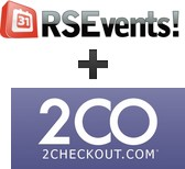 RSEvents! integration with 2Checkout