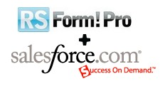 RSForm!Pro integration with Salesforce
