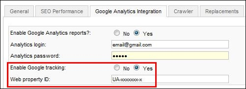 RSSeo! - enable google analytics tracking