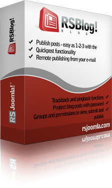 RSBlog! – Joomla!® blog extension and JomSocial plugin.