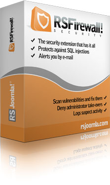 RSFirewall! - the most advanced security extension for Joomla!®