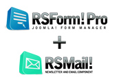 Custom Joomla! Newsletter Form