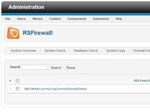 RSFirewall! RSS Feed