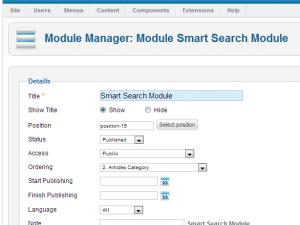 The Smart Search Module